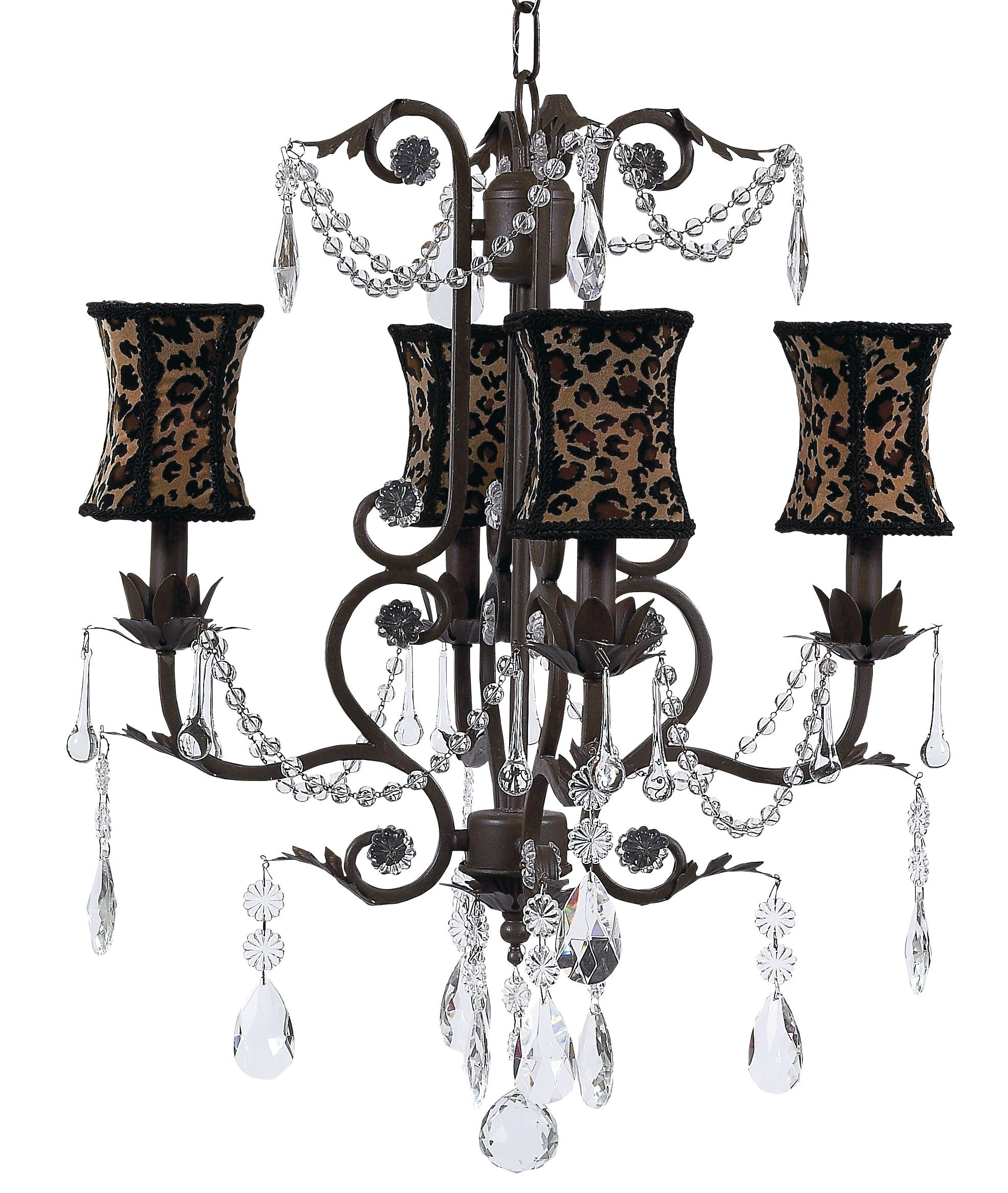 Leopard chandelier its leoparrrrrd pinterest leopards buy your leopard hourglass chandelier shade on the mocha valentino chandelier by jubilee collection here this amazing chandelier is sure to be the focal arubaitofo Choice Image
