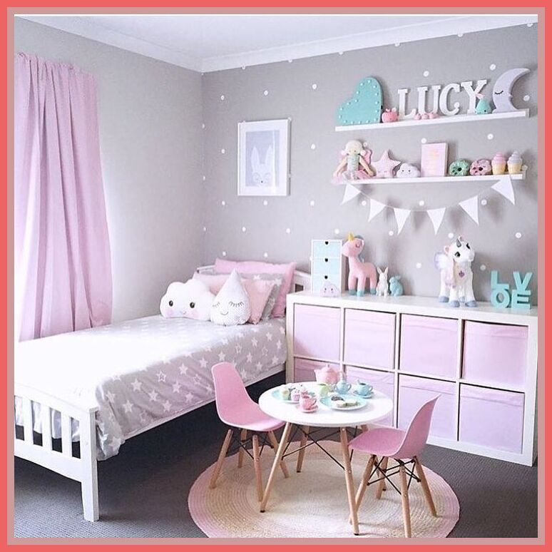 95 Reference Of Little Girl Room Decorating Ideas Small Rooms In 2020 Girl Bedroom Decor Girls Room Design Kid Room Decor