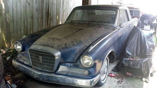 25 Year Sleep 1964 Studebaker Gt Hawk Abandoned Cars Classic