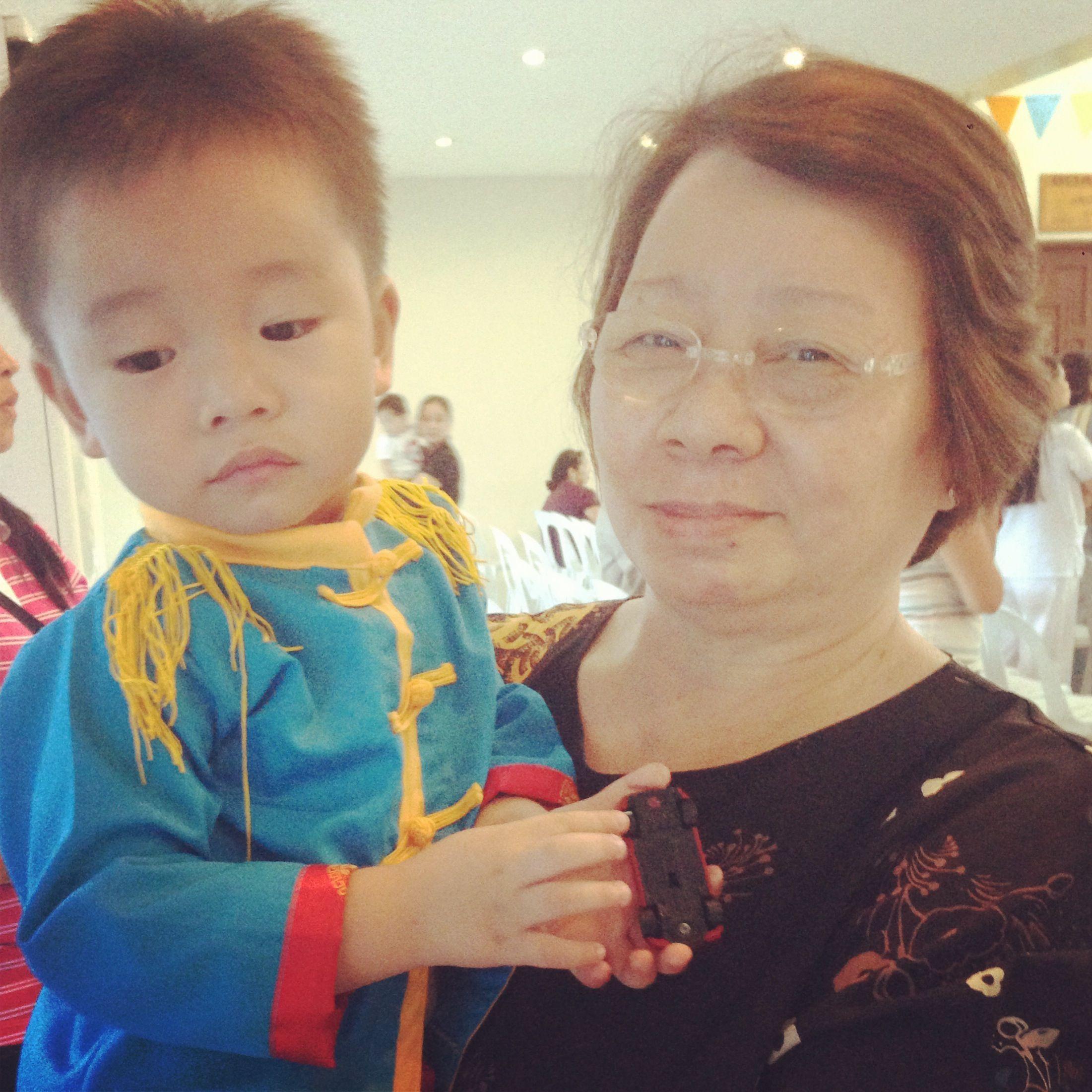 Granny and colt love love love