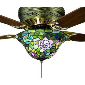 Meyda tiffany 3 light mahogany bronze ceiling fan light kit with meyda tiffany 3 light mahogany bronze ceiling fan light kit with domed stained glass aloadofball Image collections