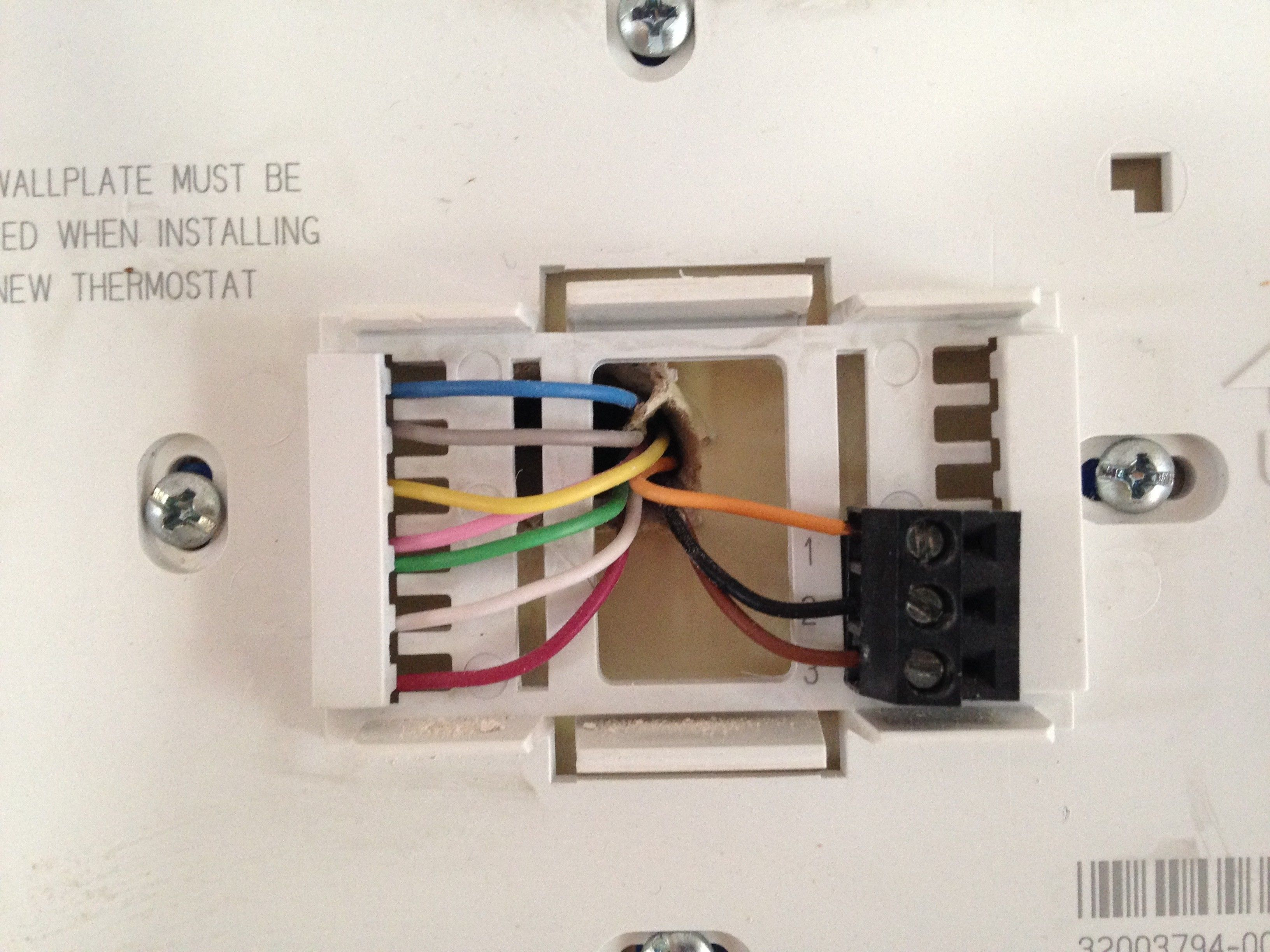 Honeywell Thermostat Wiring Diagram 2wire System