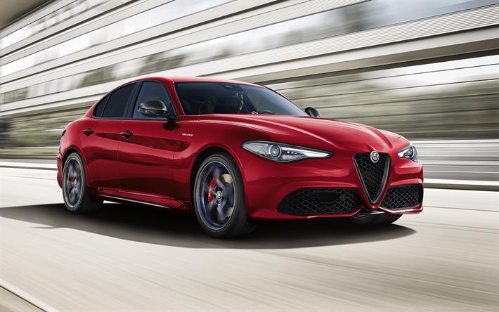 Alfa Giulia Veloce >> Download Wallpapers Alfa Romeo Giulia Veloce 2018 Q4
