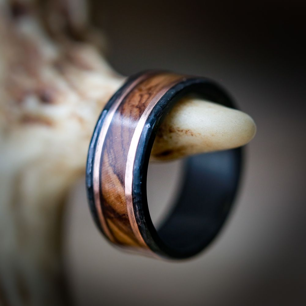 Wood Wedding Band Rings For Men Wooden Wedding Bands