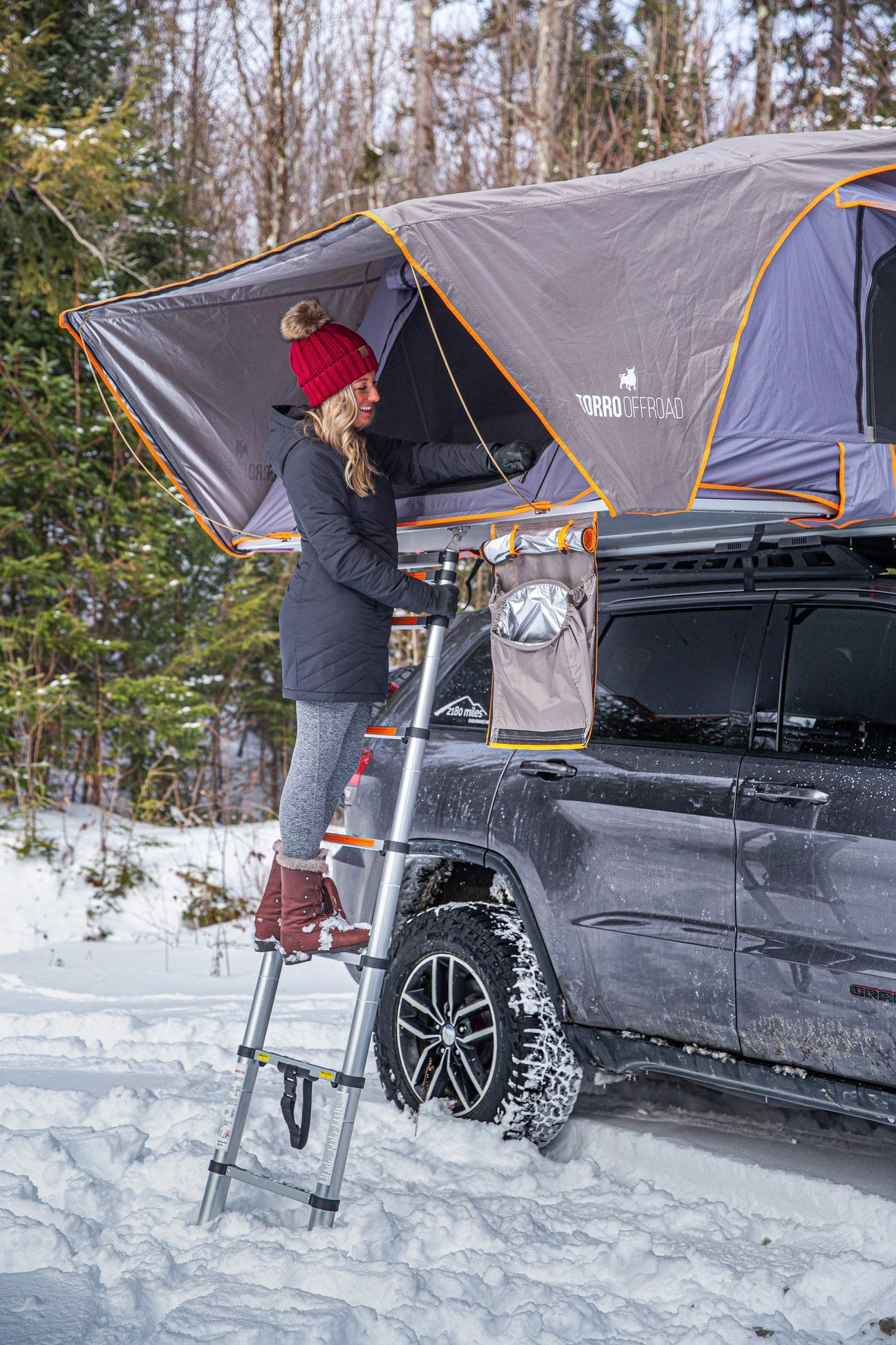 Skylux Hard Shell Rooftop Tent Rtt With Awning And Insulation Package In 2020 Roof Top Tent Top Tents Tent