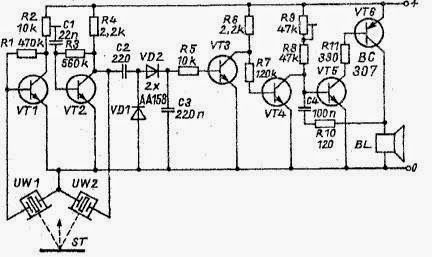 Square Wave Generator with 555 Timer Circuit Diagram