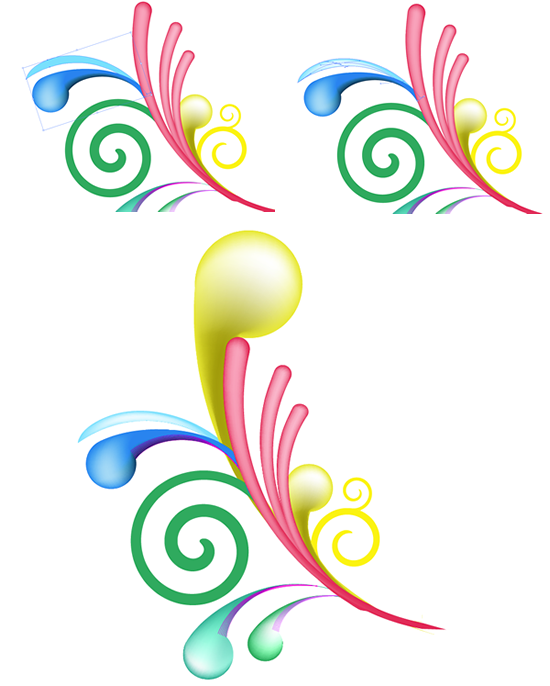 Swirl Mania in Illustrator & Photoshop | Illustrator and