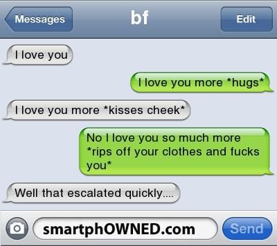 Dirty convos