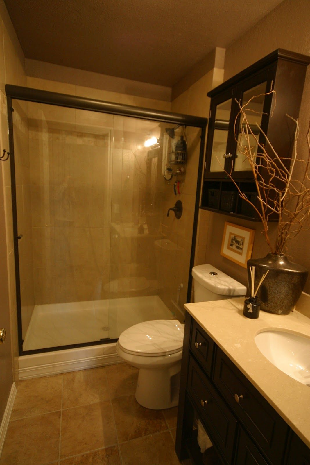 Nice Girls Rule Nice Girl Small Budget Bathroom Remodel Before - Budget bathroom remodel before and after