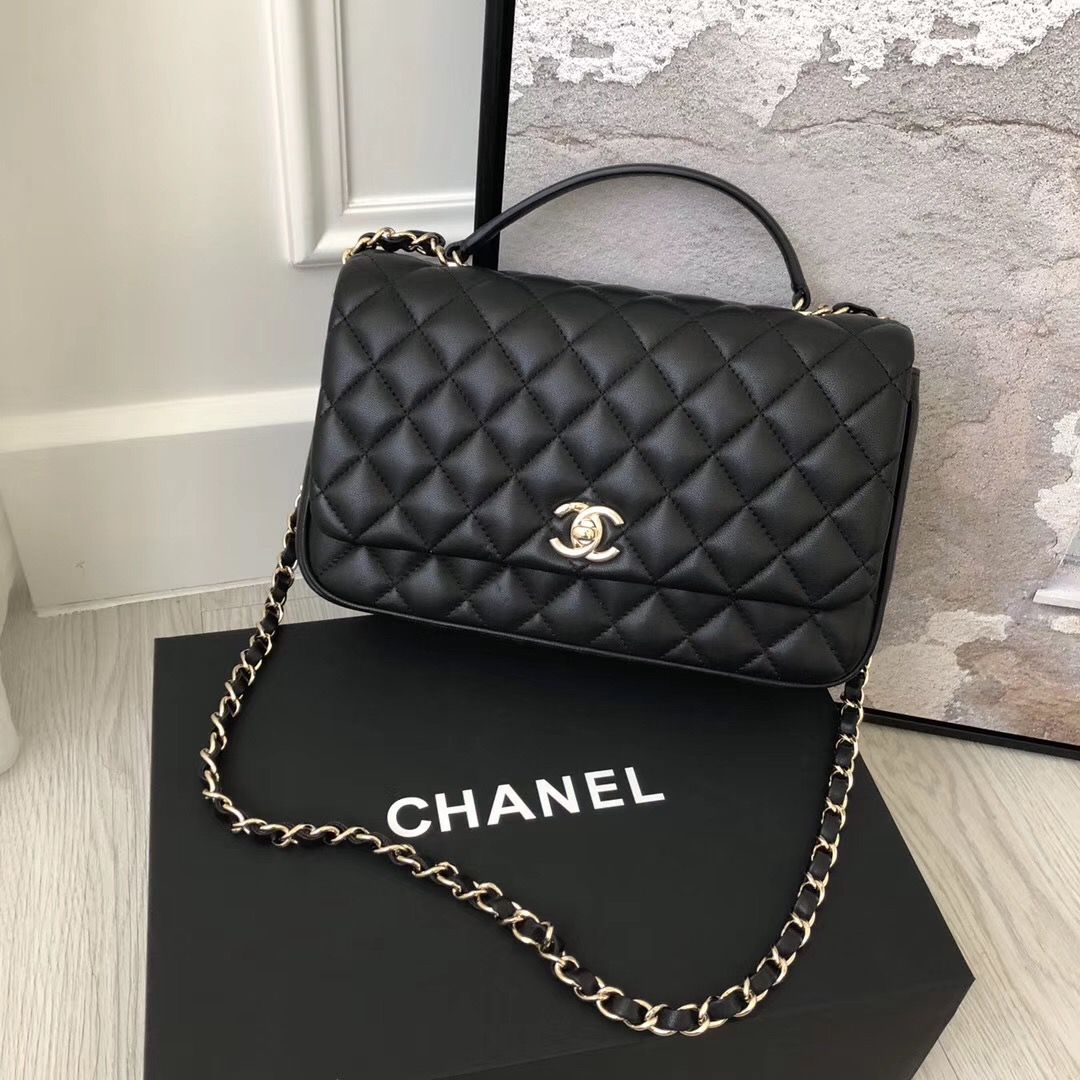 99652b207a29 Chanel Citizen Chic Small Flap in Black Lambskin | LUXTIME DFO ...