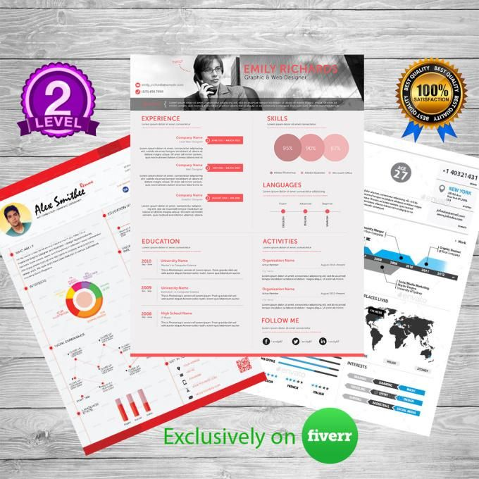 shahrozhassan  I will make amazing infographic resume graphical CV