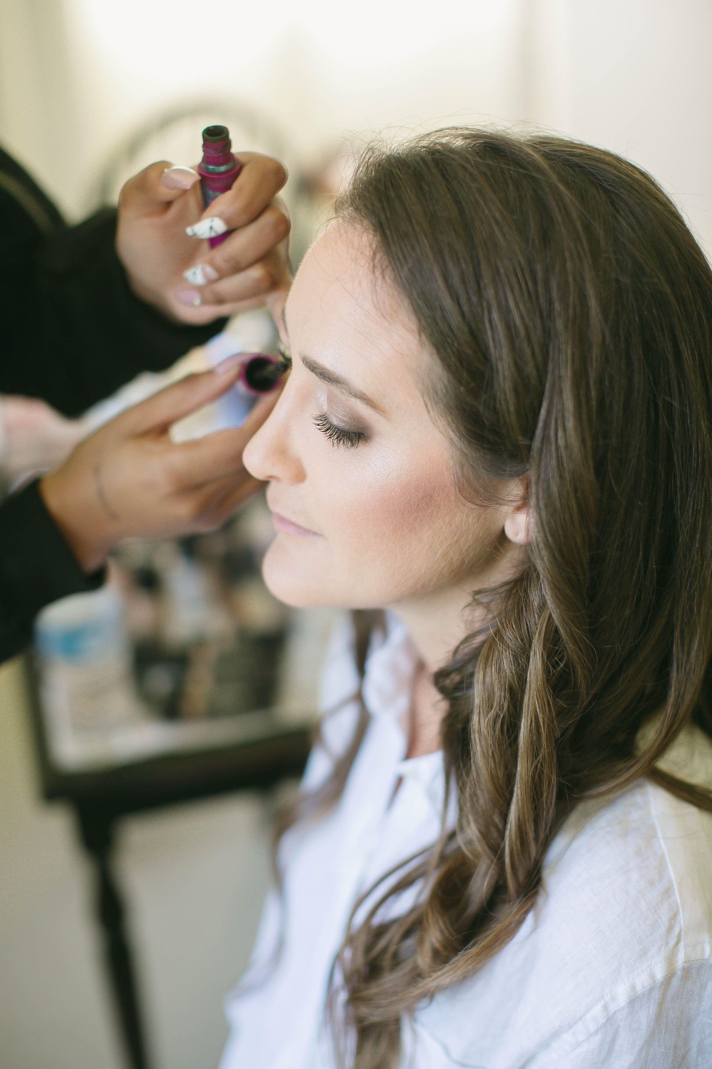 wedding hair and makeup fort lewis lodge wedding