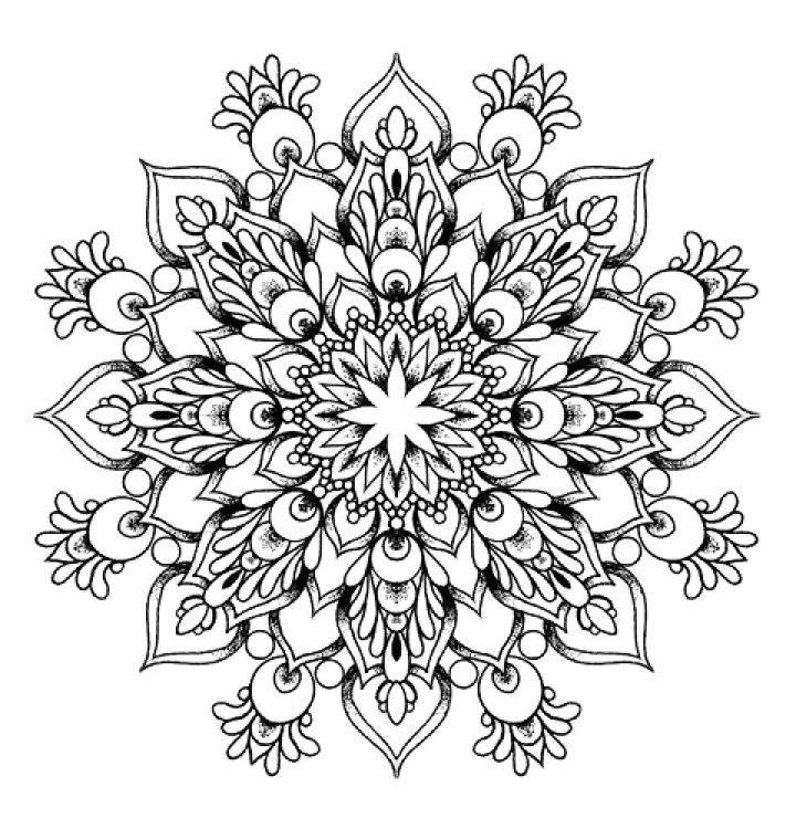 Where To Buy Diy Grey Ink Mandala Flowers Tattoo Design Mandala Tattoos Tumblr For Fashion Girls Mandala Coloring Pages Geometric Mandala Mandala Coloring