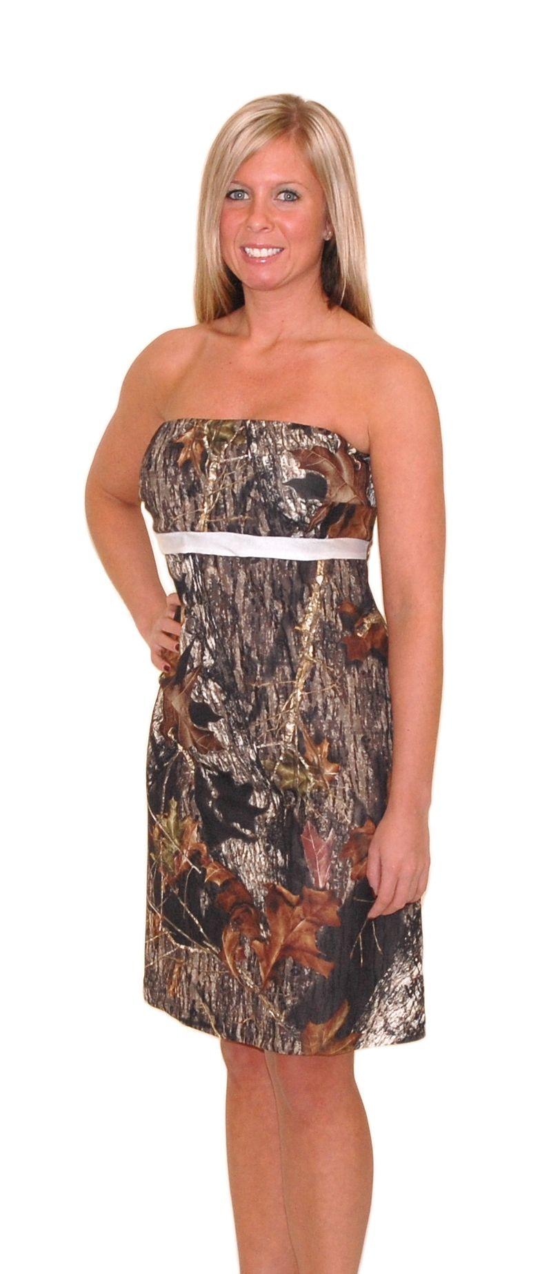 zoey mossy oak camo prom bridesmaid dress pinterest camo