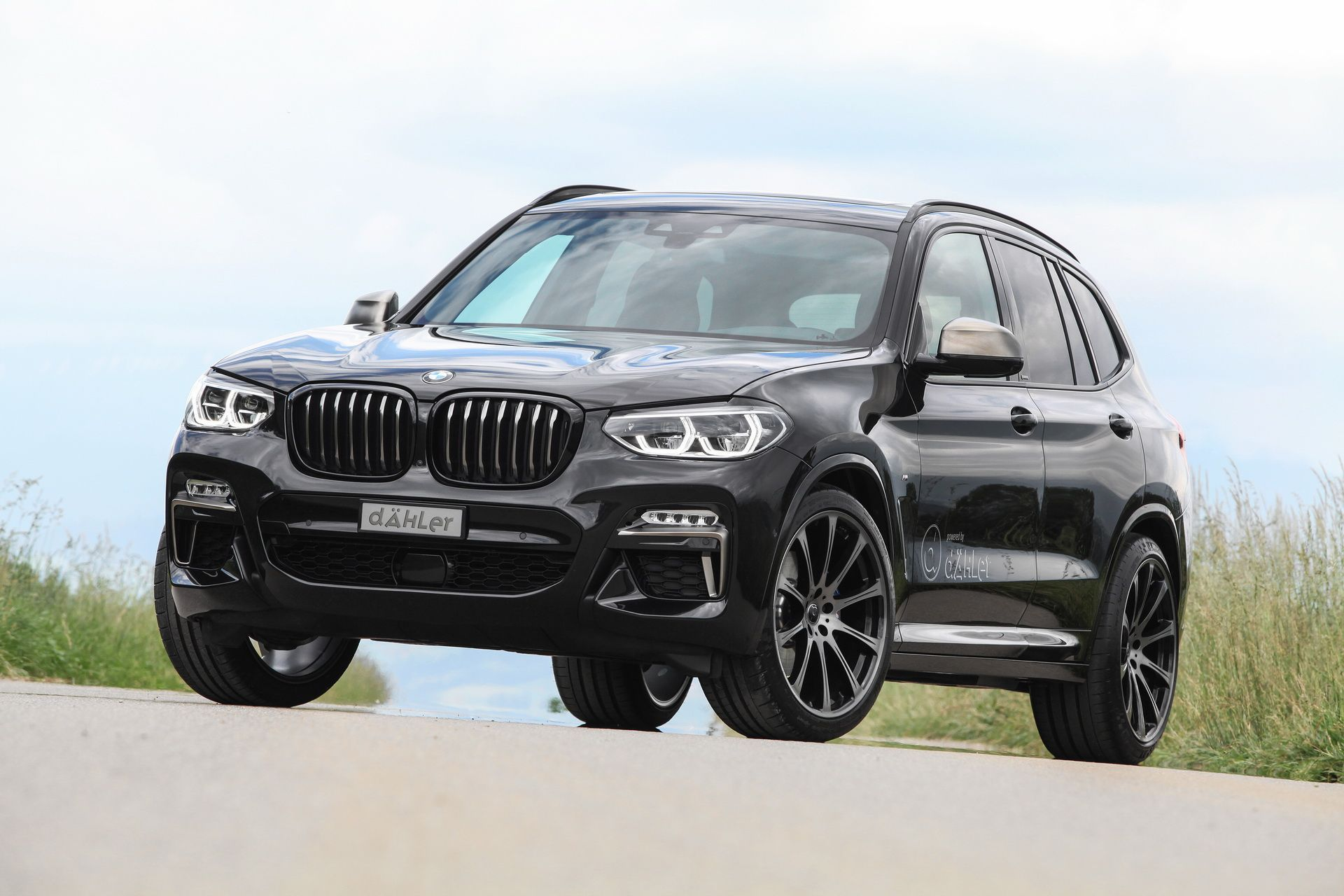 Video Bmw X3 M40i With Dahler Exhaust Sounds Good Even With Opf