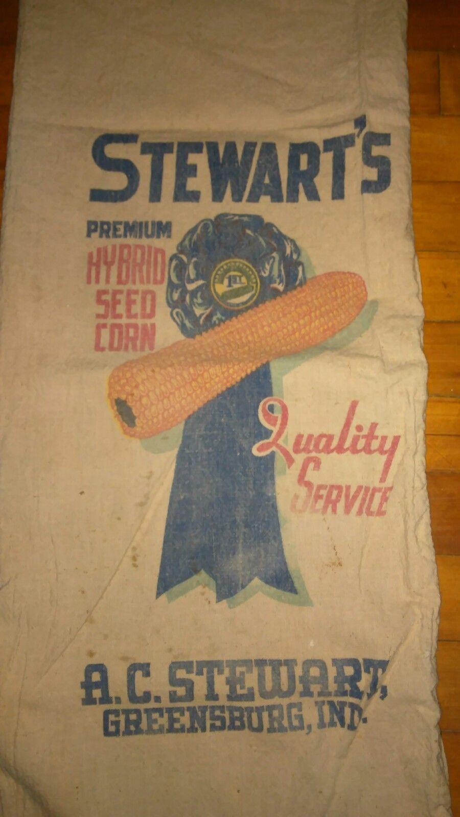 Stewart's Premium Hybrid Greensburg, Indiana Corn seed