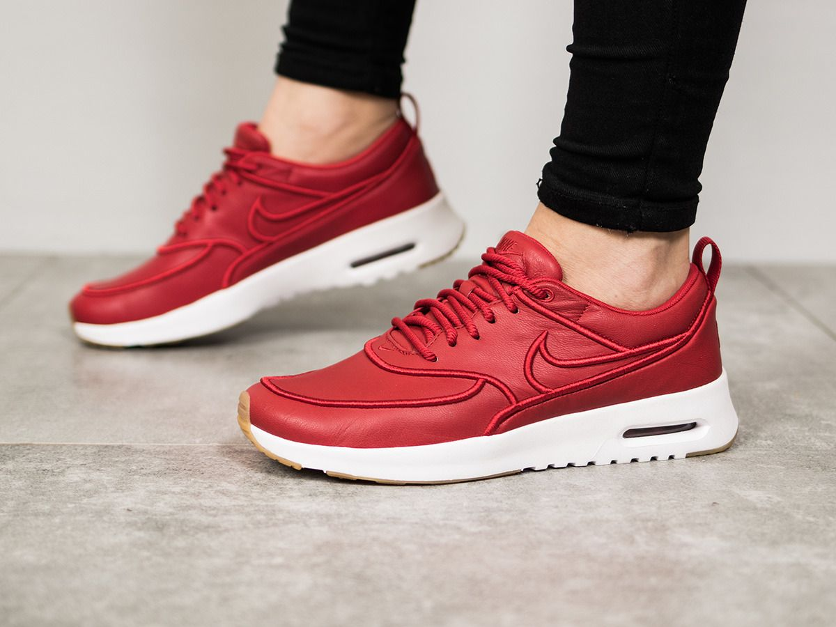 WOMENS AIR MAX THEA ULTRA FLYKNIT  Nike Air Max Thea Ultra SI Gym Red
