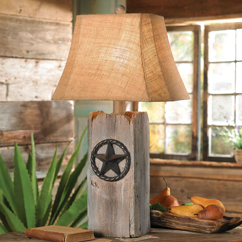Rustic star table lamp 120 at lone star western decor sewing rustic star table lamp 120 at lone star western decor aloadofball