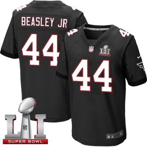 be59f7ae8 Nike Falcons  44 Vic Beasley Jr Black Alternate Super Bowl LI 51 Men s  Stitched NFL