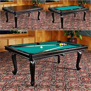 DLT Monterey 3 In 1 Pool, Dining And Poker Game Table   Accessory