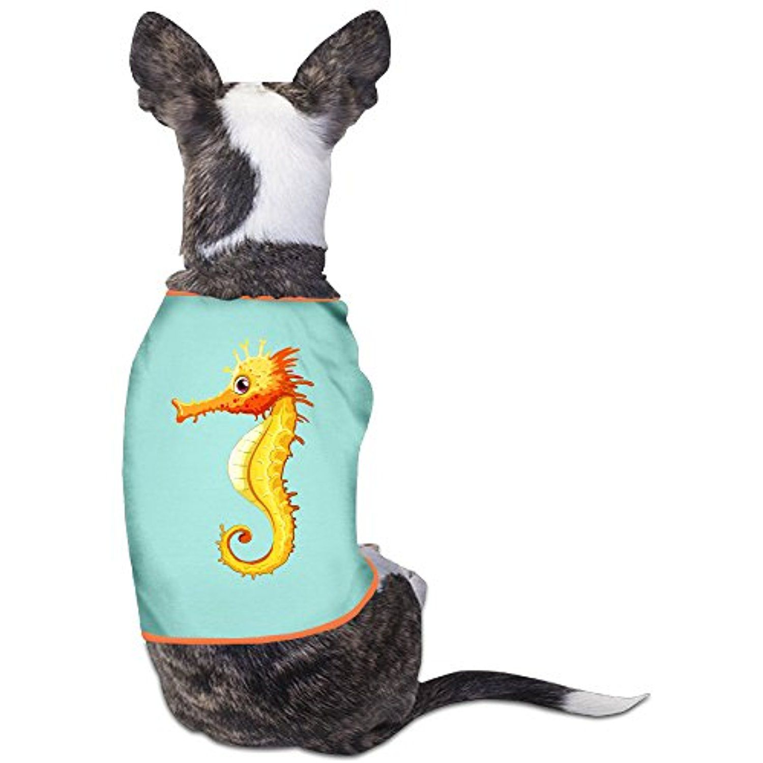 Hippocampus Pet Shirts Dog Puppy T-Shirt Clothes Outfit Multicolor *** Find out more about the great product at the image link. (This is an affiliate link) #DogApparelAccessories