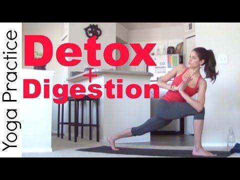 20 Minute Yoga For Detox Digestion Youtube Joga Dlya Relaksacii Joga Fitnes