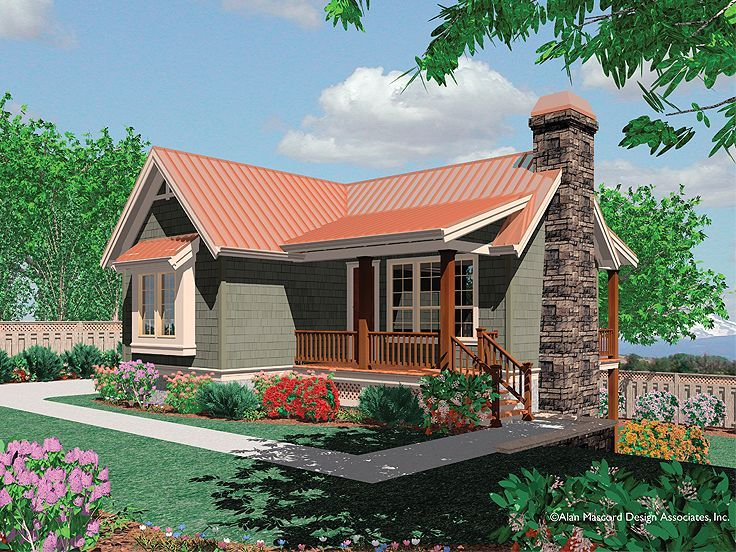 034h 0064 Cozy Mountain Cottage Has Finished Lower Level Mountain