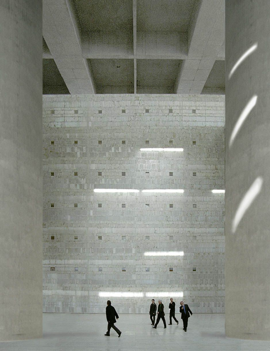 es granada general savings bank architect alberto campo baeza 2001 architecture light. Black Bedroom Furniture Sets. Home Design Ideas