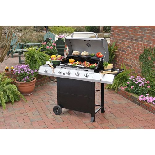 Char Broil 463436214 4 Burner Gas Grill Classic C 45g3 With Sideburner Best Gas Grills Gas Grill Gas Grill Reviews