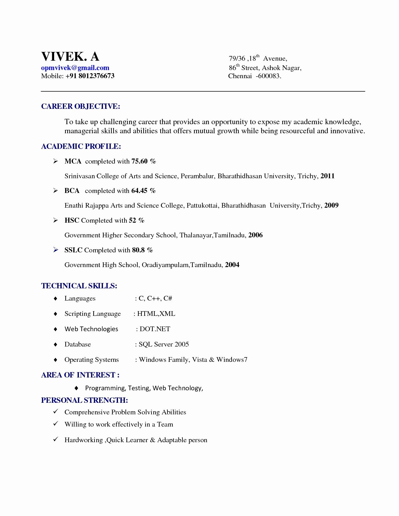 Resume Format India Resume Format Pinterest Resume Format