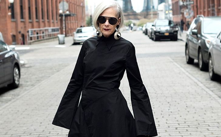This 63-Year-Old Woman Became An Unintentional Fashion Icon - Post Popular