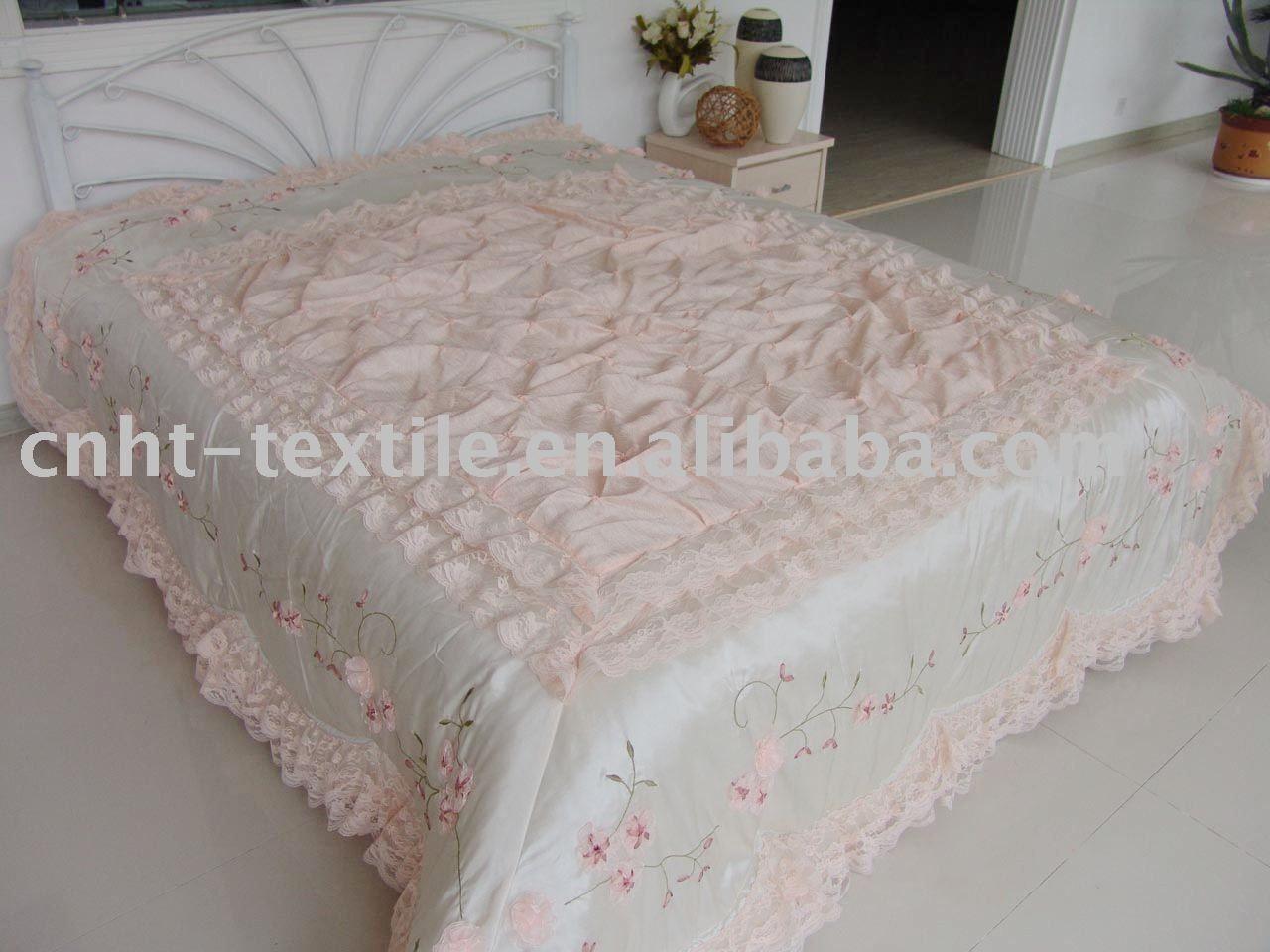 Ribbon embroidery bedspread designs - Elegant Bedspreads Luxury Bedspreads Comforters Rv Bedspreads Designer Bedspreads