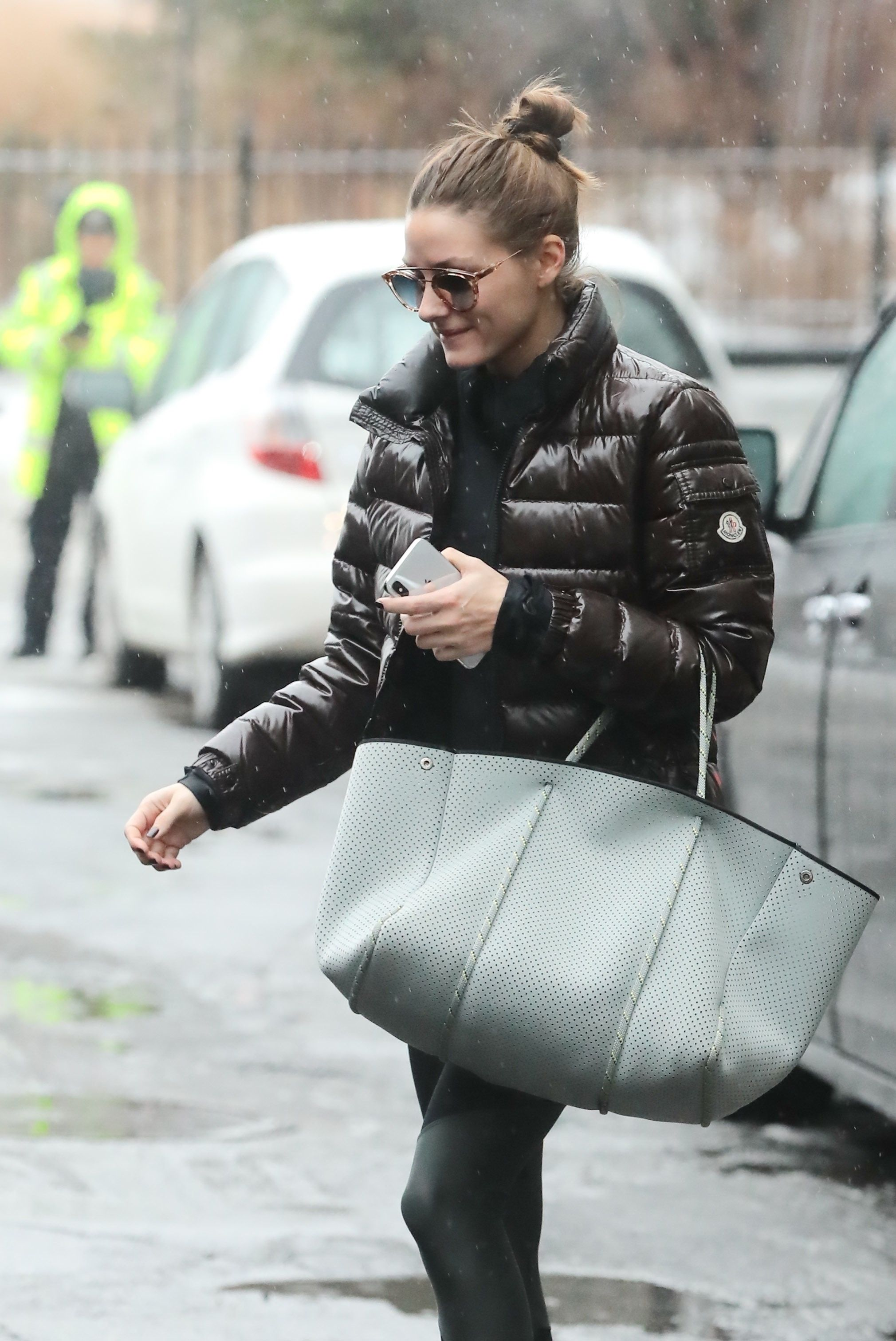Olivia Palermo in Moncler