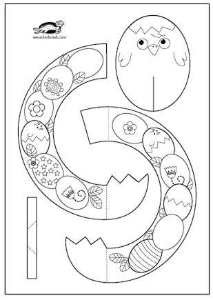 Easter Wreaths + templates | krokotak | jaro | Pinterest | Wreaths ...