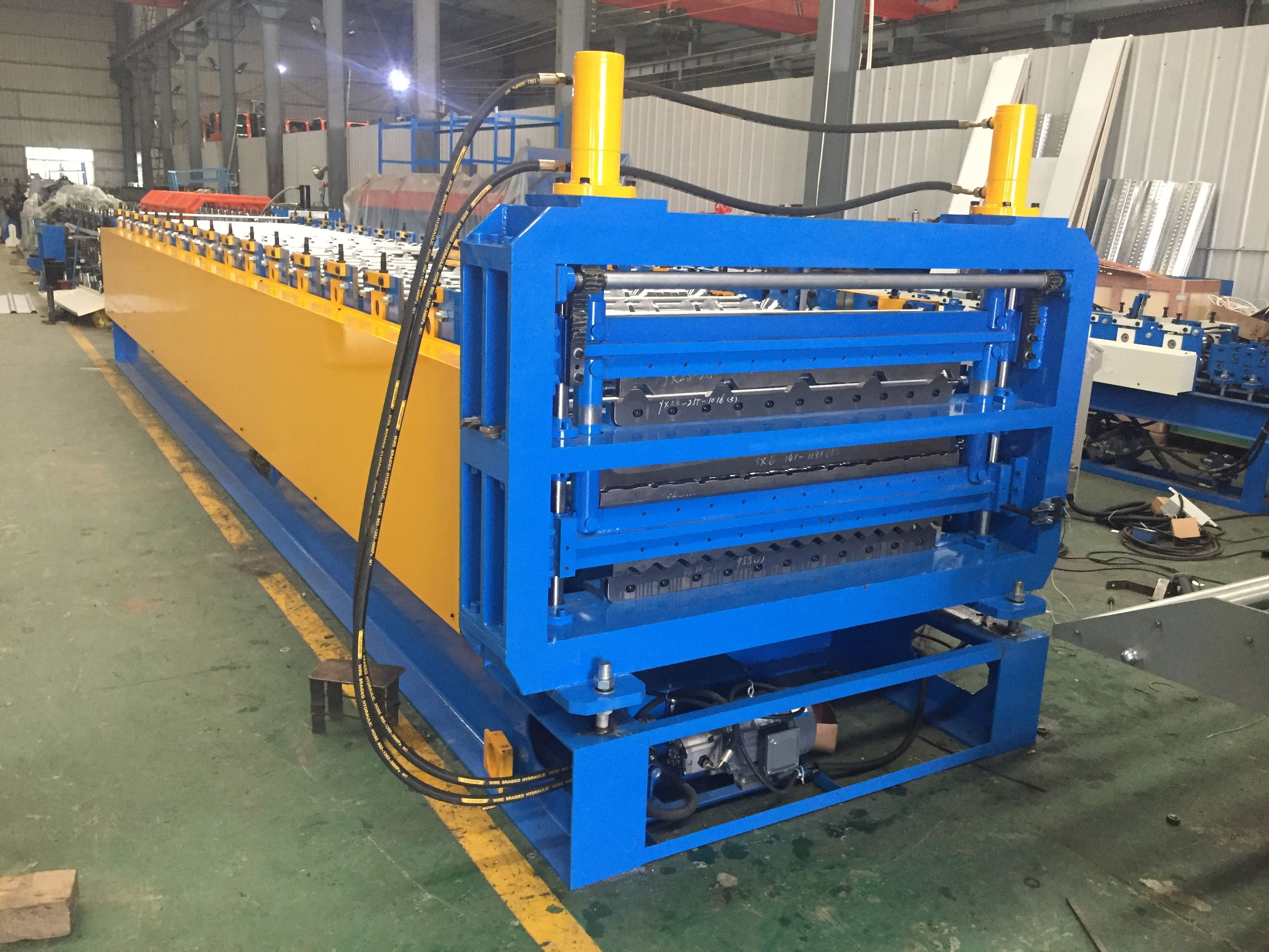 Three Layer Roof Roll Forming Machine Roof Panels Steel Roof Panels Roll Forming