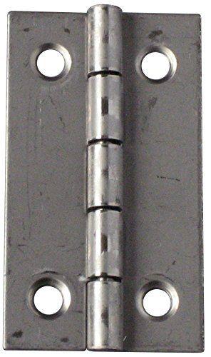 Chrisligne 10300.40x25.45-009 - Cerniera rettangolare leggera per mobile, confezione da 4 pezzi: Amazon.it: Fai da te