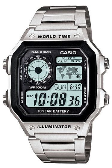 Casio Classic AE1200WHD-1A | EVOSY | The Premier Destination for Watches and Accessories $40