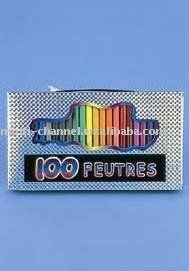 100PC FELT TIP PENS