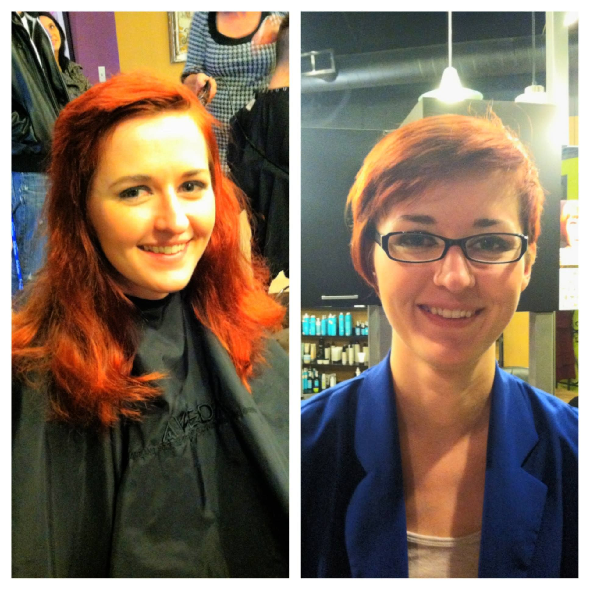 Short Asymmetrical By Francie At Avantgarde Salon Spa In Grand