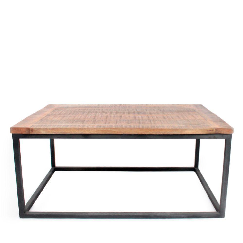 8 Excellent Table Basse Bois Et Metal Image