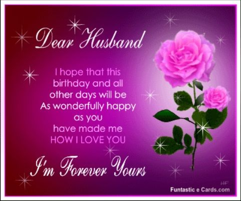 Husband Happy Birthday Quotes
