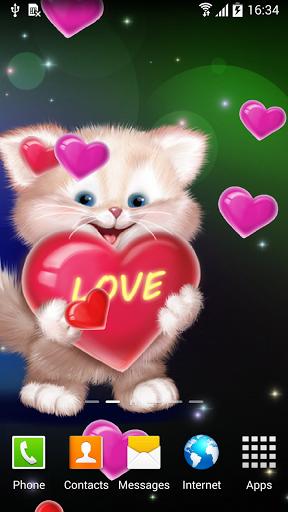 Download Cute Cat Live Wallpaper 103 APK