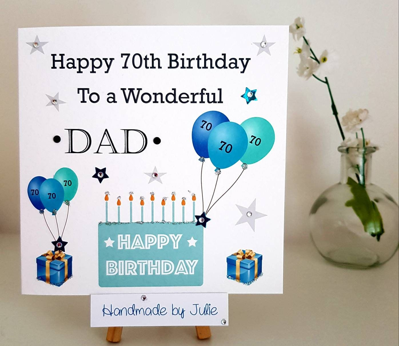 Birthday Card For Dad Son Husband Brother Nephew Etsy Dad Birthday Card Birthday Cards 40th Birthday Cards