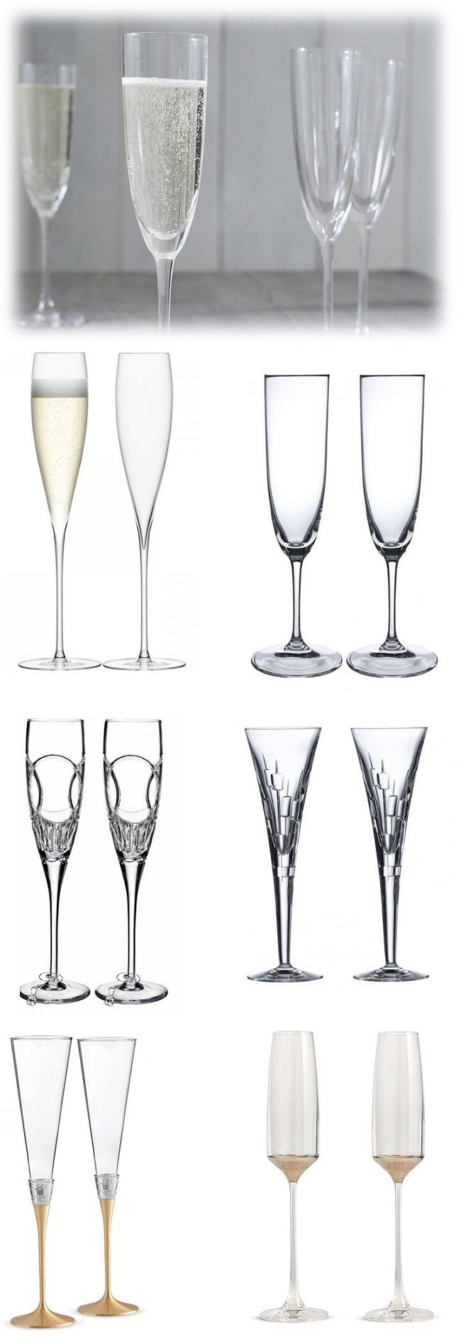 Toast Worthy Wedding Gift Champagne Flute Sets | Champagne flutes ...