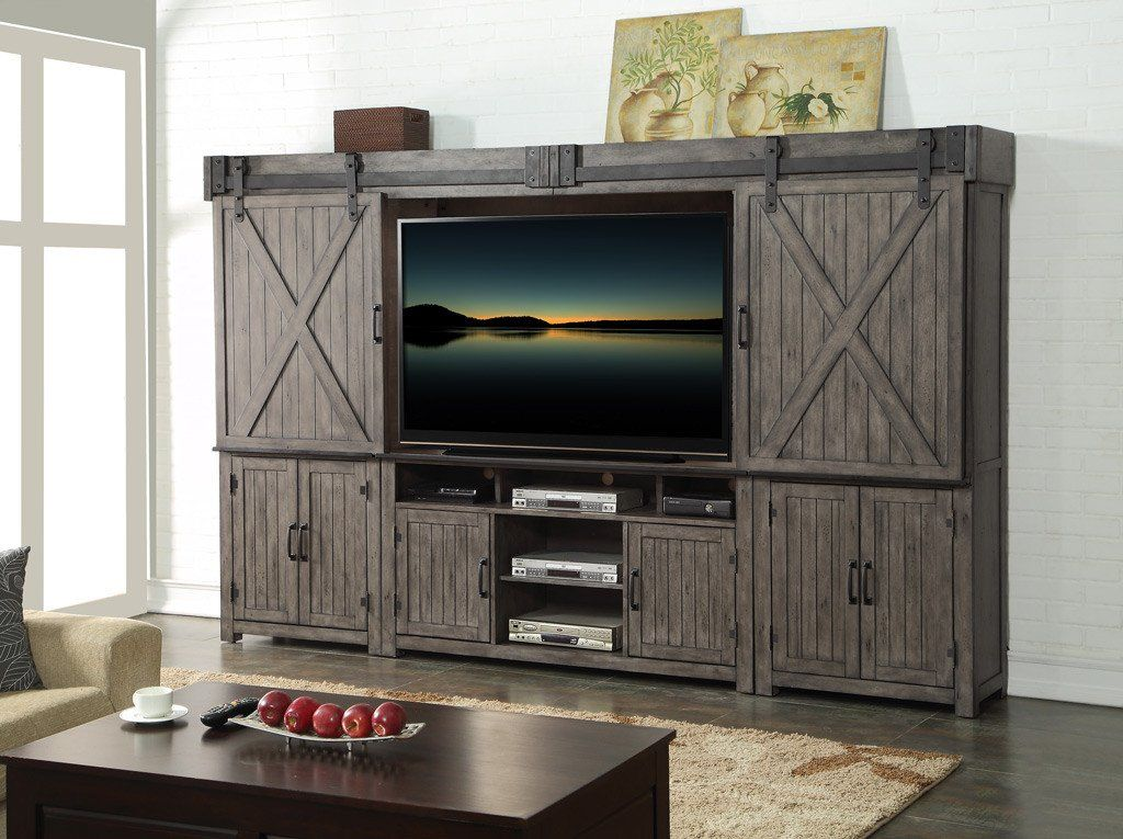 5Pc. Entertainment Wall Legends furniture