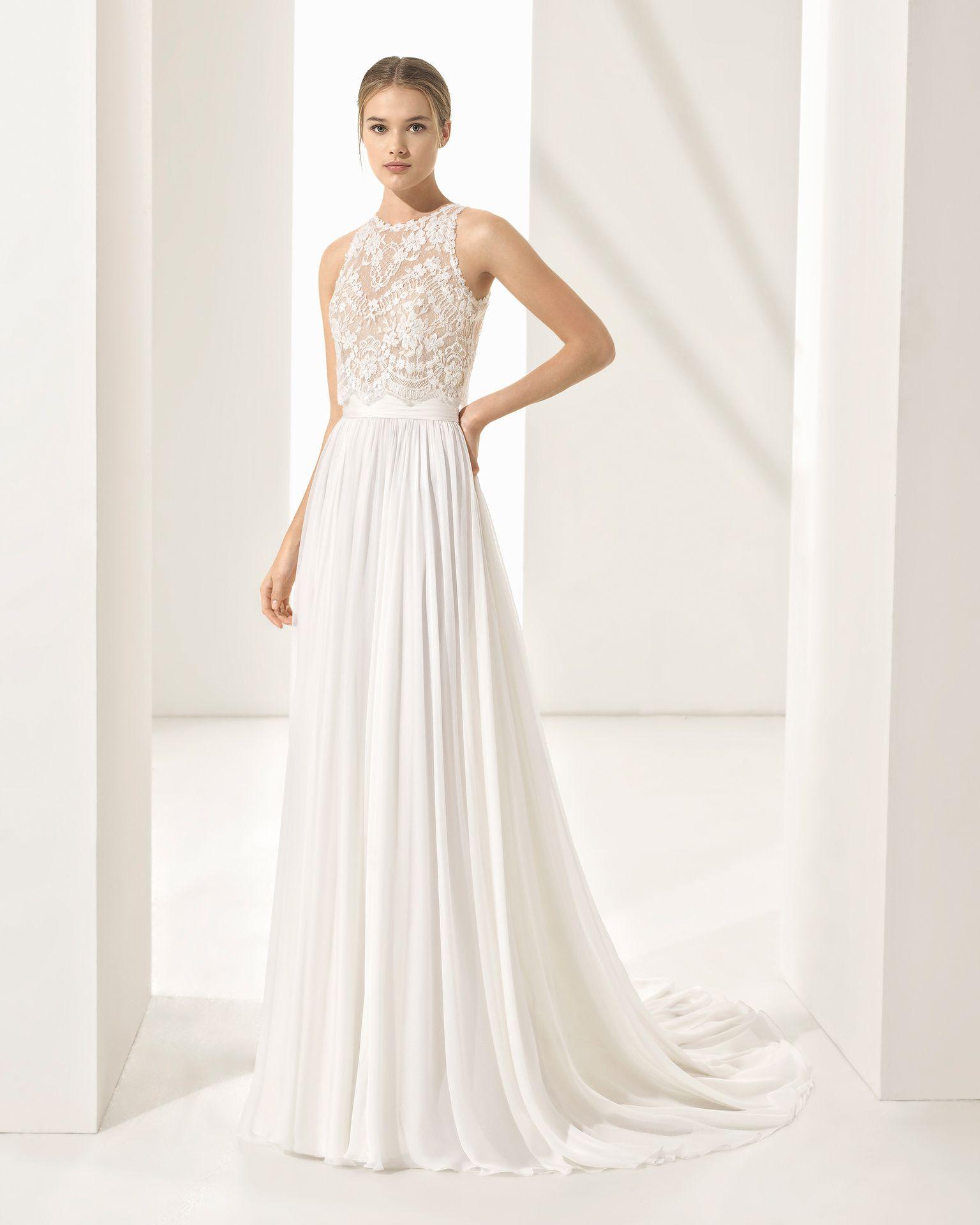 PANDORA - 2018 Bridal Collection. Rosa Clará Couture Collection ...