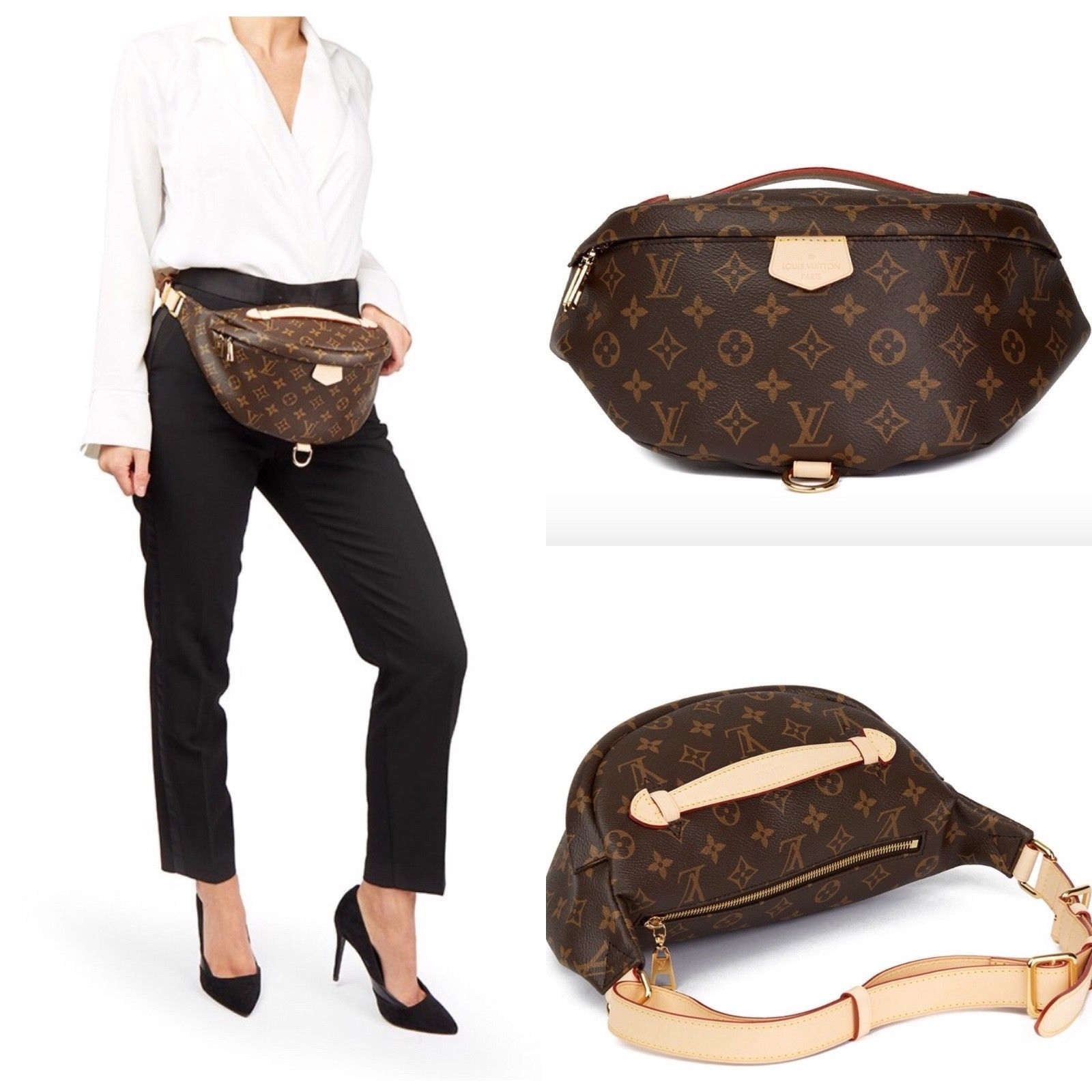 d76406911faf Louis Vuitton Monogram Bumbag Fanny Pack Bag 2018 FRANCENEW! Find this Pin  and more on ...