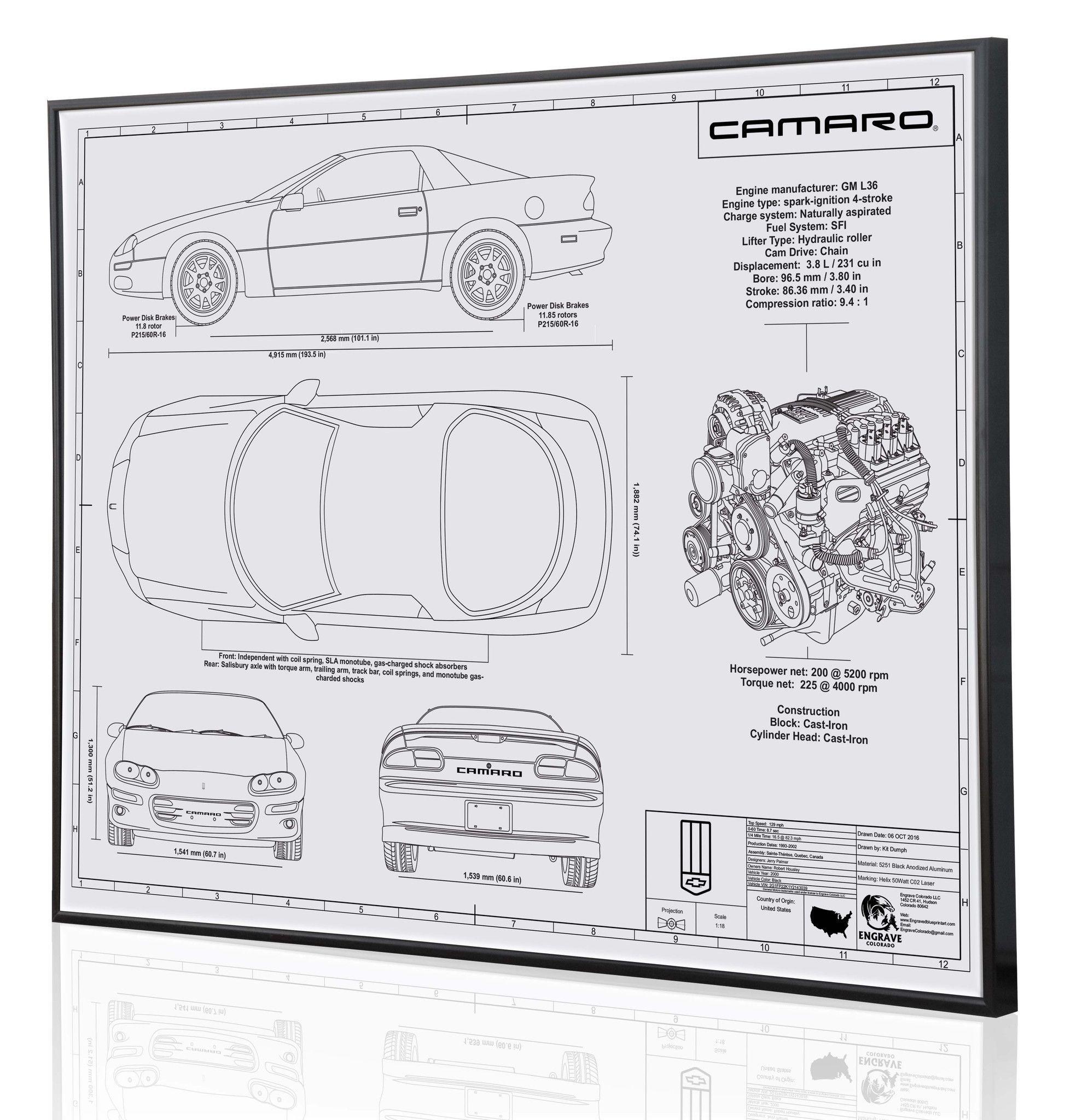Chevrolet Camaro RS (4th Generation)