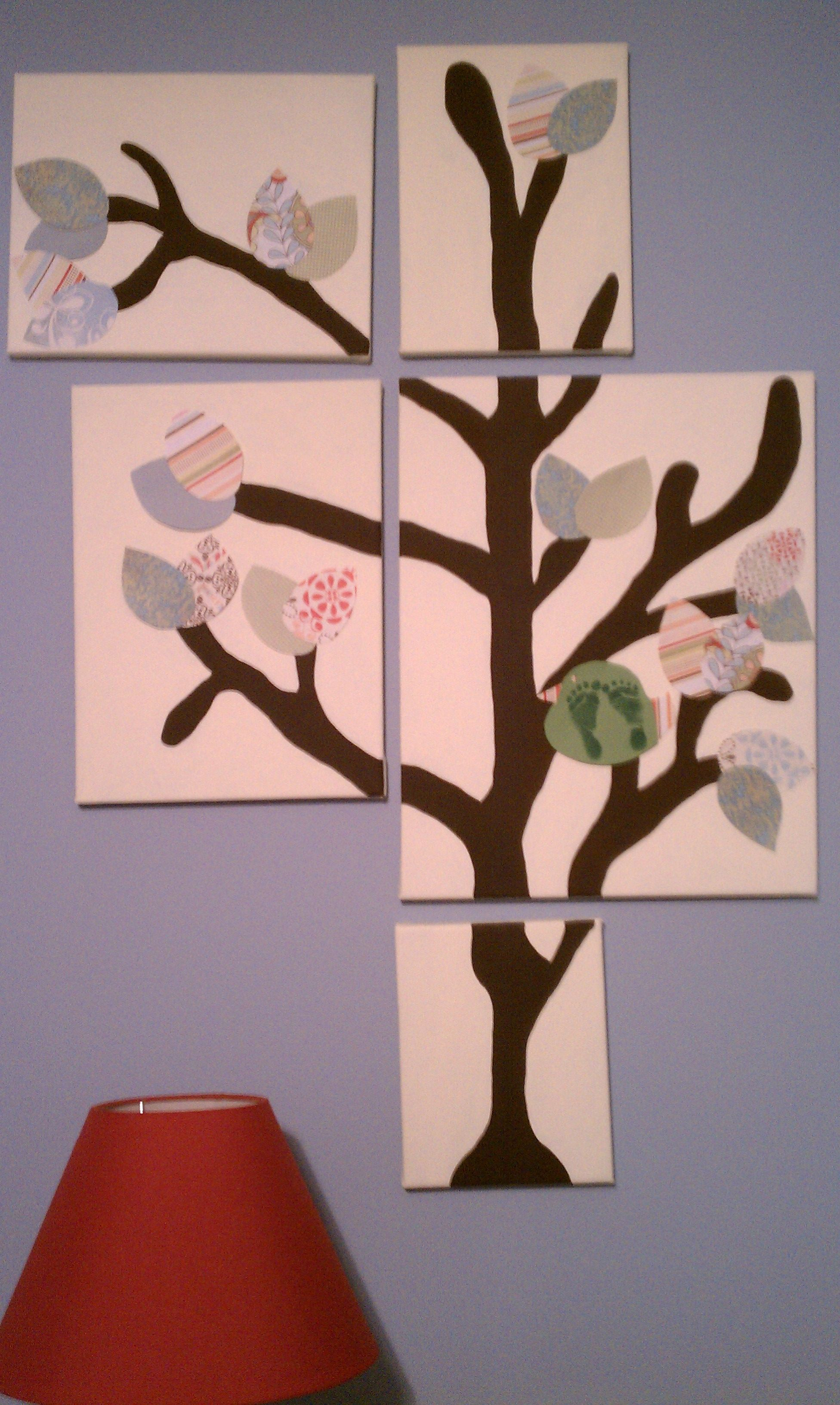 Tree painted by Kacy