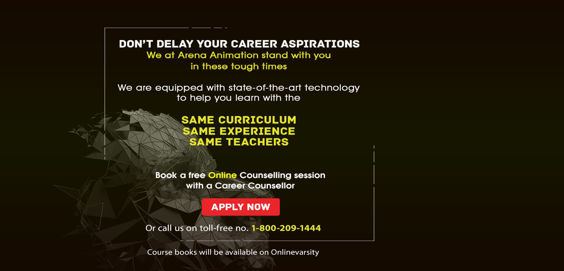 Arena animation career courses in media entertainment